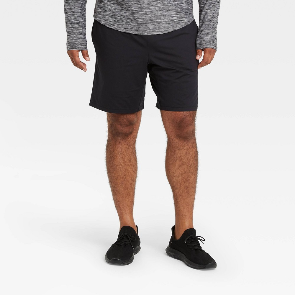 Men 39 S Cozy Shorts All In Motion 8482 Black Xl