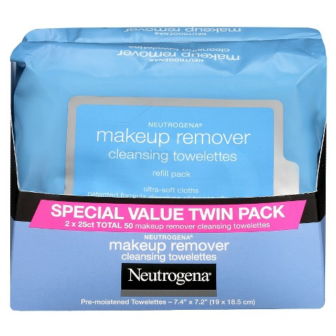 Neutrogena® Makeup Remover Cleansing Towelettes Refill Pack - 2pk - image 1 of 2