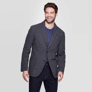 Men's Checked Kenwood Blazer - Goodfellow & Co™ L