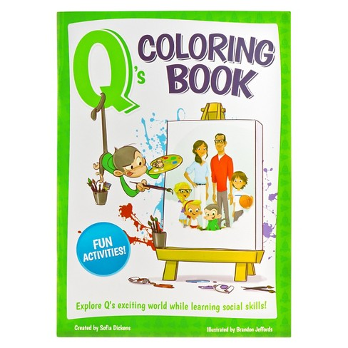 Q's Coloring Book - image 1 of 1