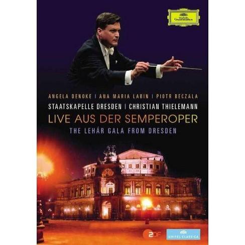 Thielemann / Staatskal: Live Aus Der Semperoper Lehar Gala From Dresden (DVD) - image 1 of 1