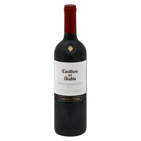Casillero Del Diablo® Cabernet - 750mL Bottle - image 1 of 1