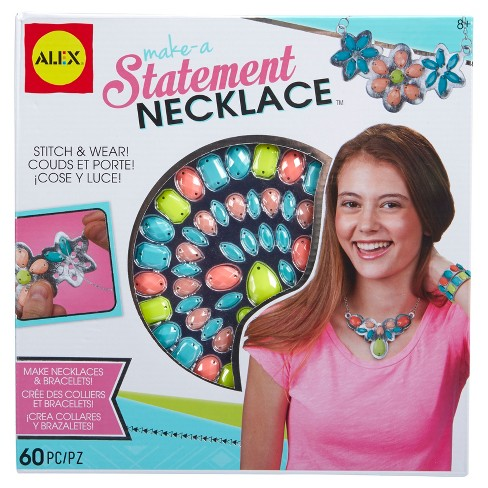 ALEX Toys Do-it-Yourself Wear Make A Statement Necklace - image 1 of 3
