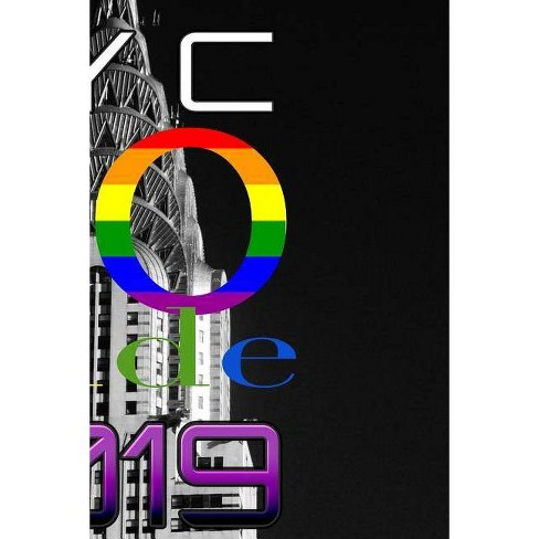 NYC Pride Journal 50 year commemorative - by  Sir Michael Huhn (Paperback) - image 1 of 1