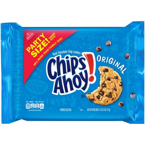 Chips Ahoy! Original Real Chocolate Chip Cookies - 25.3oz - image 1 of 4