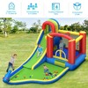 Costway Inflatable Kid Bounce House Slide Climbing Splash Pool Jumping Castle - image 4 of 4