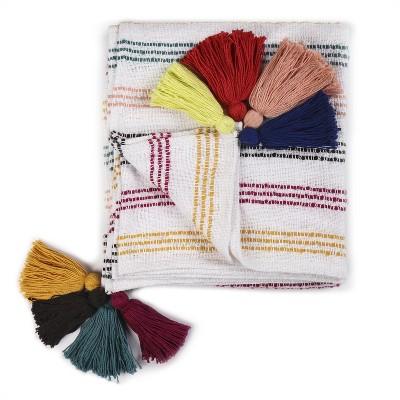 Textured Stripe Throw Blanket - Threshold™