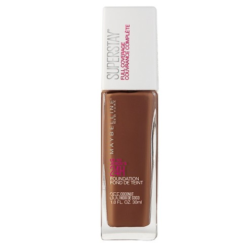 Maybelline Superstay Full Coverage Foundation - Deep Shades - 1 fl oz - image 1 of 5