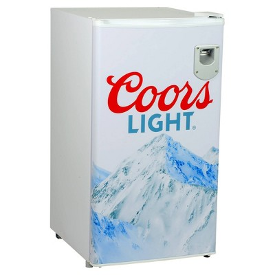 Coors Light 3.2 cu ft Compact Fridge - White