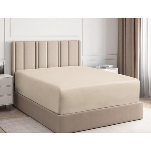 Fitted Sheet Cgk Unlimited In Cream, Queen Sofa Bed Fitted Sheets