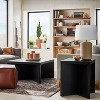 River Heights Square Wooden Coffee Table Black - Threshold™ designed with Studio McGee - image 2 of 4