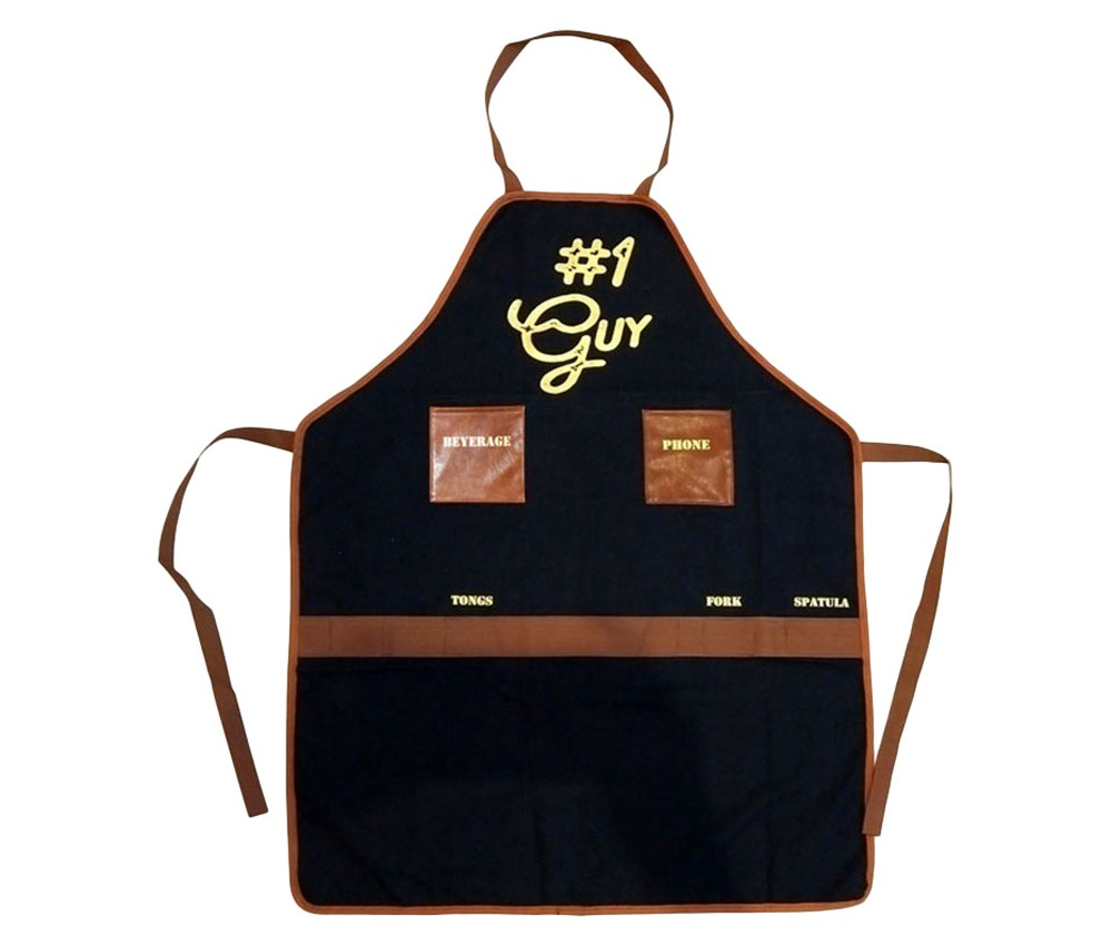 Buxton Grilling Cookware Apron, Blue