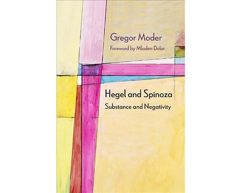 Hegel and Spinoza : Substance and Negativity -  (Diaeresis) by Gregor Moder (Hardcover) - image 1 of 1