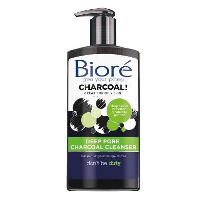 Biore Deep Charcoal Cleanser - 6.7 oz