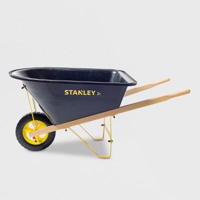 Stanley Junior Kids Wheel Barrow Black