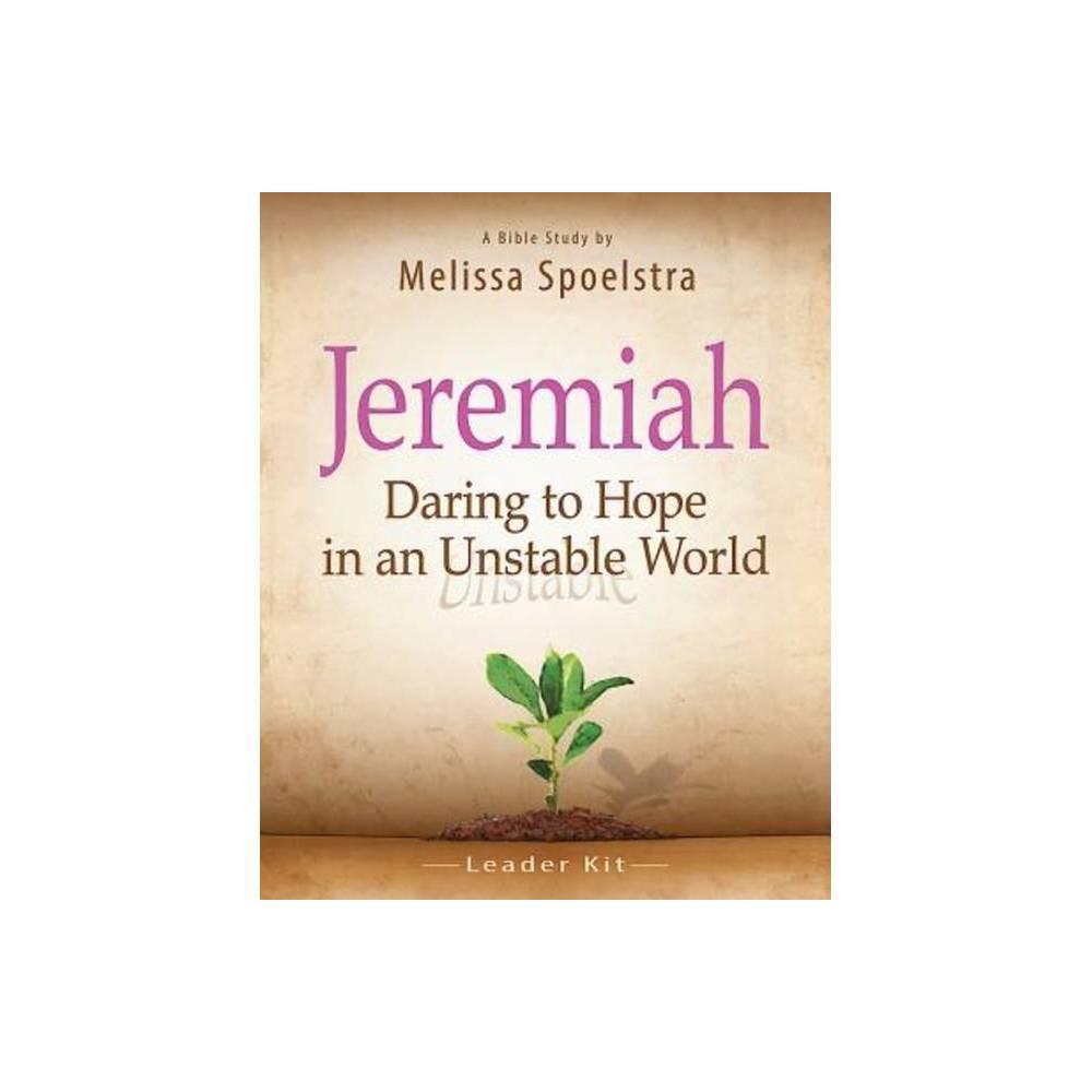 Jeremiah Bible Study Leader Kit By Melissa Spoelstra Mixed Media Product