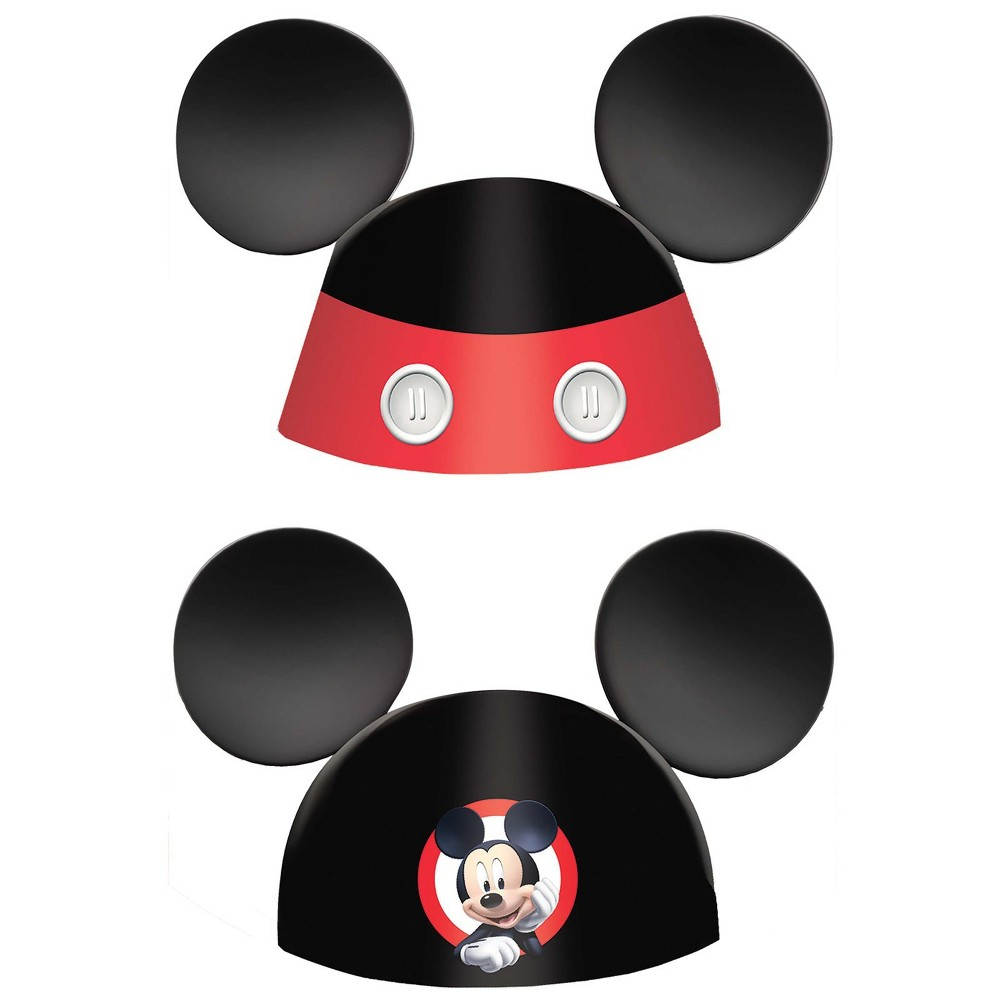 "Image of ""6"""" Mickey Mouse On The Go Cone Hats kit, Boy's"""