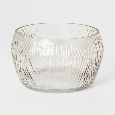 Decorative Glass Bowl Smoke Stack - Threshold™