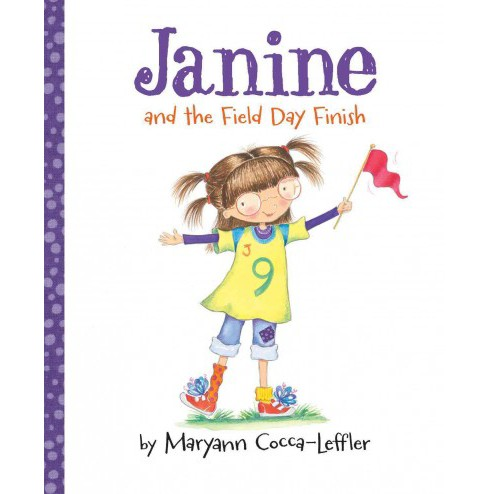 Janine and the Field Day Finish (School And Library) (Maryann Cocca-Leffler) - image 1 of 1