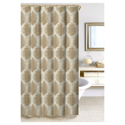 Cartine Shower Curtain - Taupe - Homewear