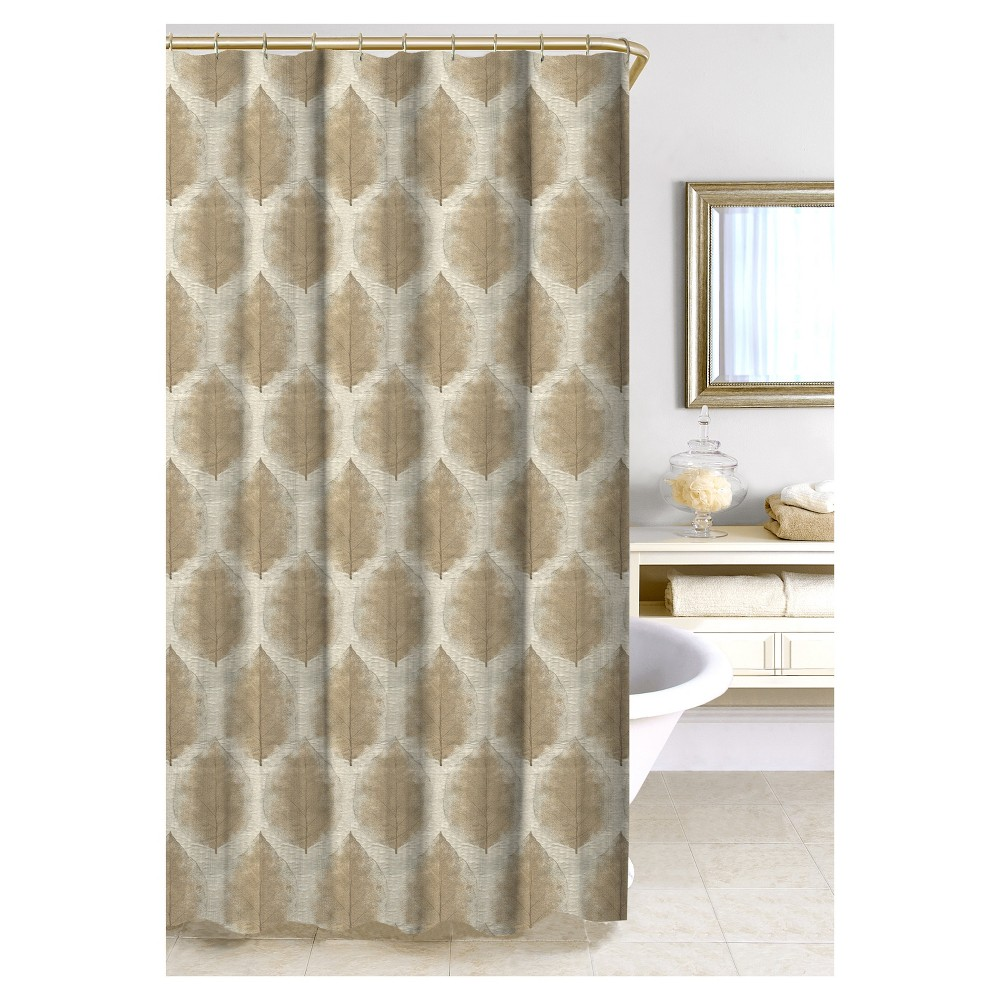 Image of Cartine Shower Curtain - Taupe - Homewear