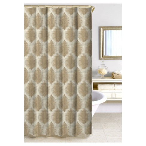 Cartine Shower Curtain - Taupe - Homewear - image 1 of 1