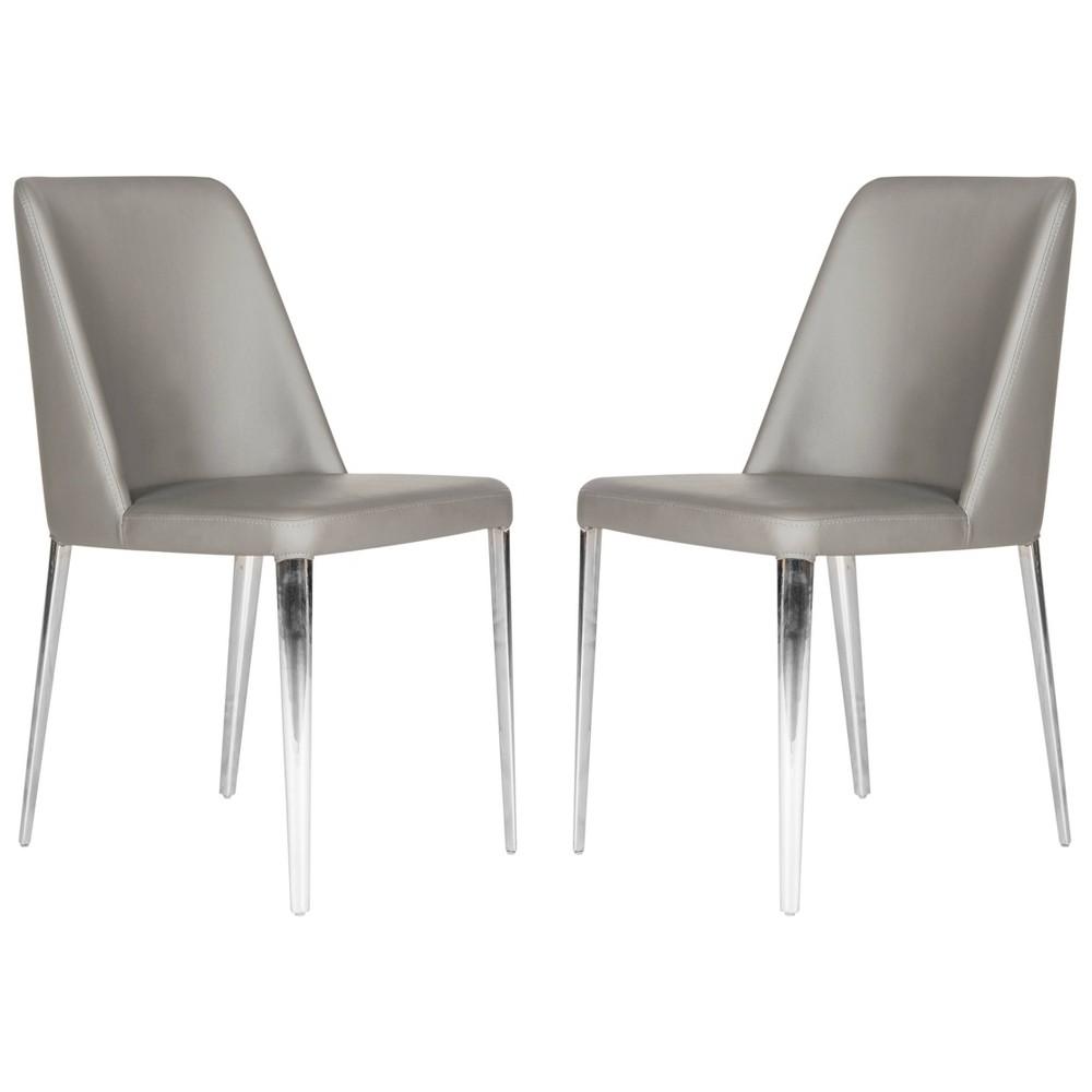 Baltic Side Chair - Gray (Set of 2) - Safavieh