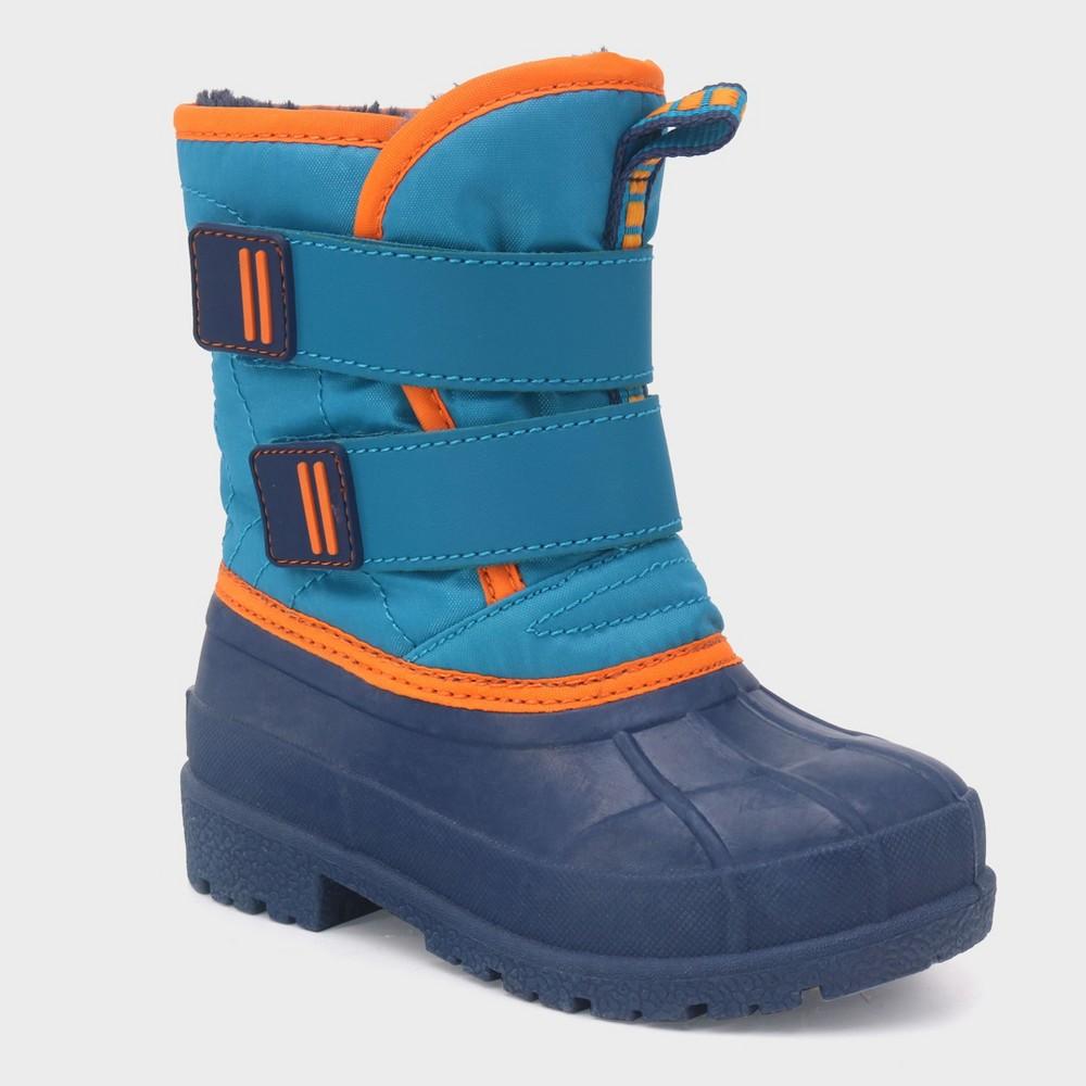 Toddler Boys' Benedict Winter Boots - Cat & Jack Blue 7