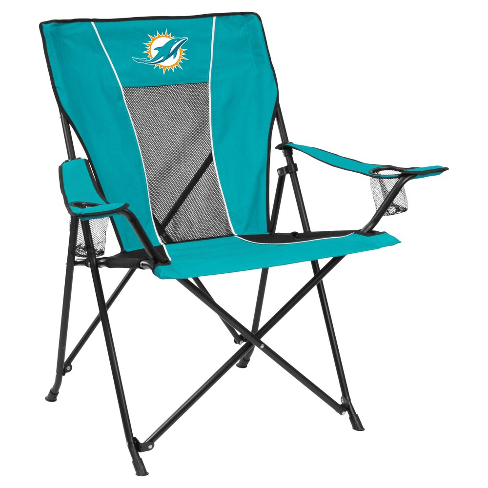 NFL Miami Dolphins Portable Game Time Quad Chair