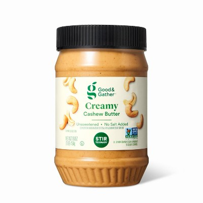 Creamy Stir Cashew Butter - 16oz - Good & Gather™