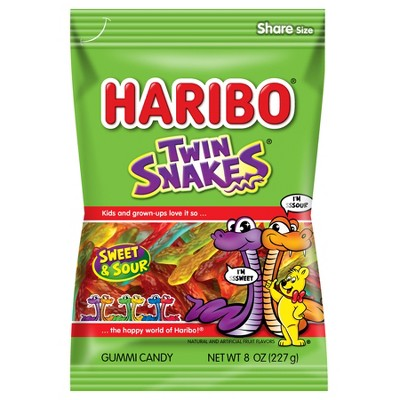 Gummy Candies: Haribo Twin Snakes