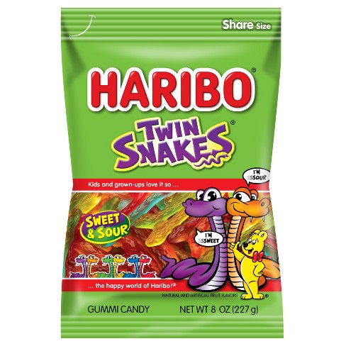 HARIBO Twin Snakes Gummy Candy - 8oz - image 1 of 3