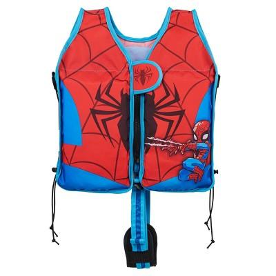 Swimways Marvel Step by Step Swim Vest Super Hero Adventures - Spider-Man