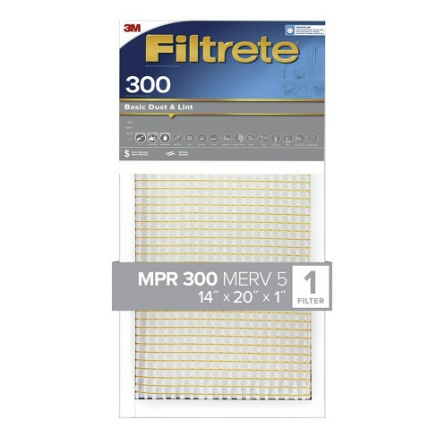 Filtrete Basic Dust and Lint Air Filter 300 MPR - image 1 of 3