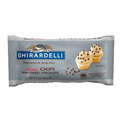 Baking Chips & Chocolate: Ghirardelli Semi-Sweet Chocolate Baking Chips Mini