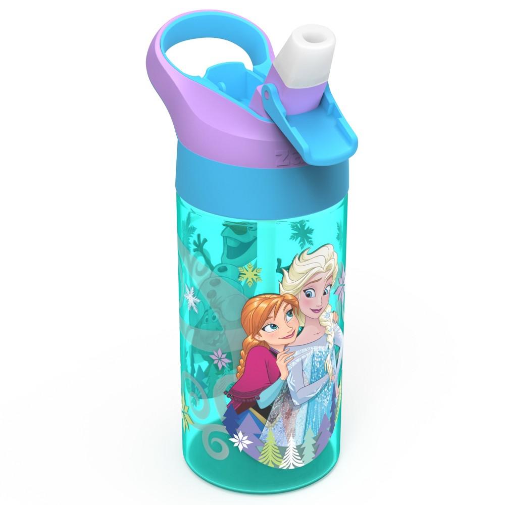 Frozen 17.5oz Plastic Water Bottle Blue/Purple - Zak Designs, Multi-Colored