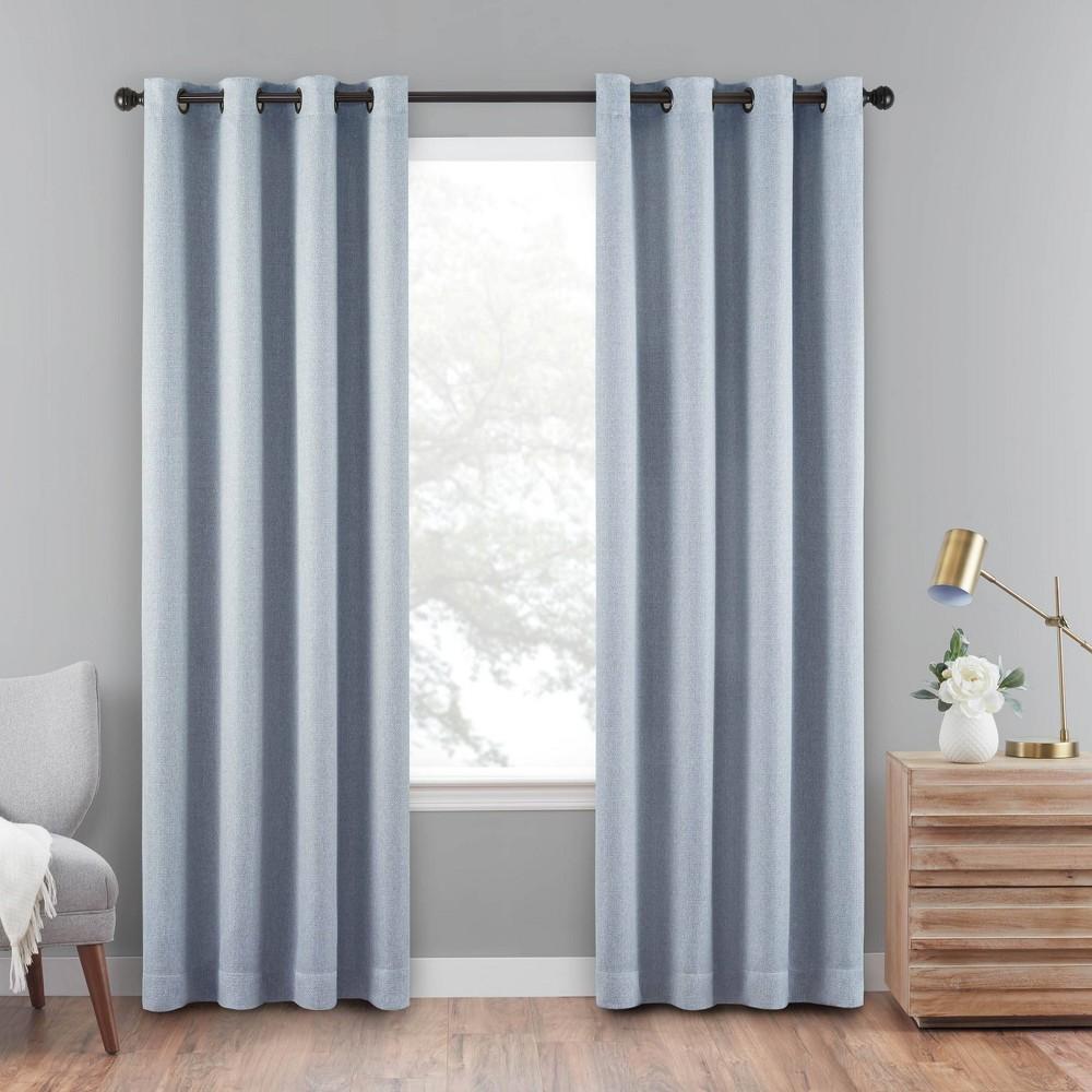 84 34 X50 34 Cara Absolute Zero Blackout Window Panel Blue Eclipse