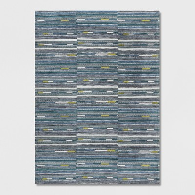7' x 10' Yew Stripe Outdoor Rug Cool - Project 62™