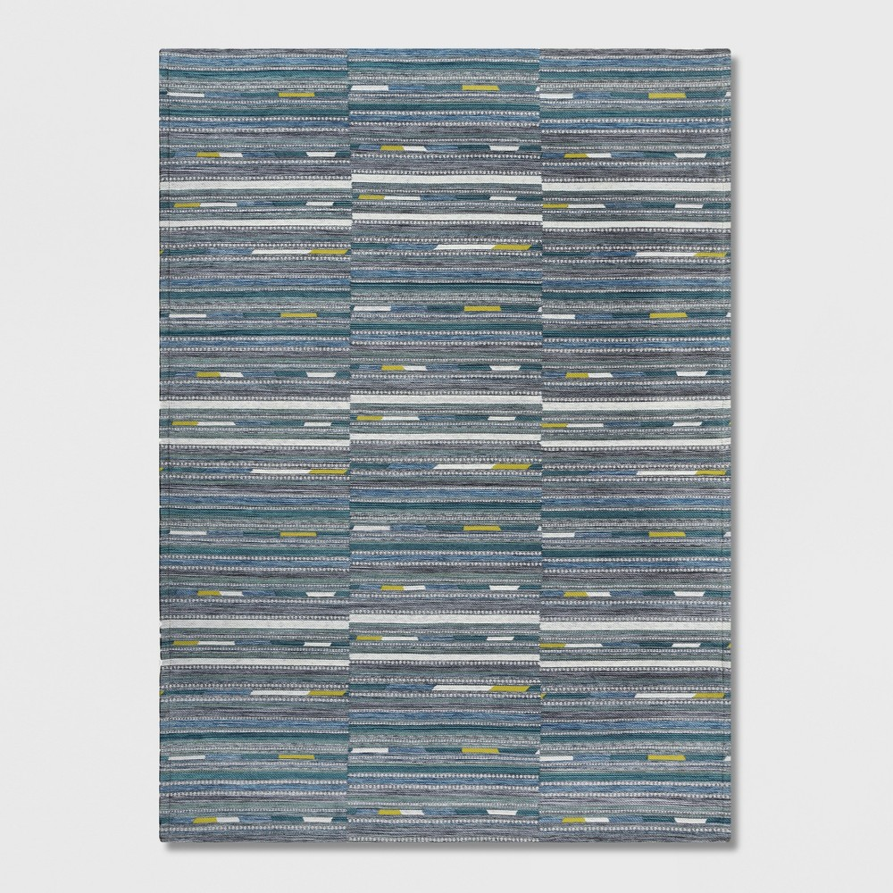 7' x 10' Yew Stripe Outdoor Rug Cool - Project 62