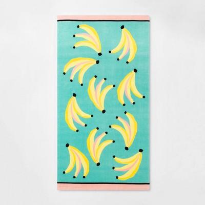 Banana Beach Towel - Sun Squad™