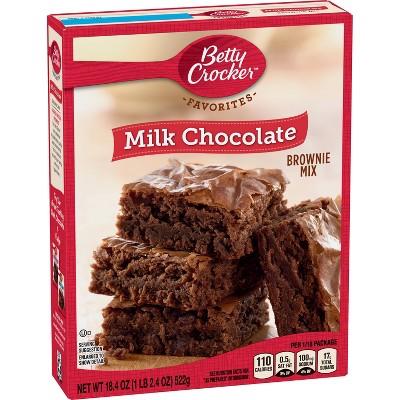 Betty Crocker Traditional Milk Chocolate Brownie - 18.4oz