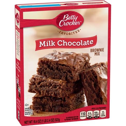 Betty Crocker Traditional Milk Chocolate Brownie - 18.4oz - image 1 of 3