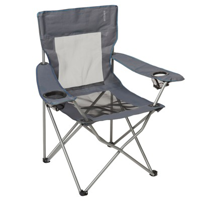 Mesh Captain Chair with Carrying Case - Embark™ Gray