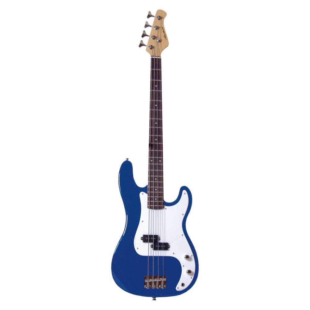 Archer SB10 P-Style Electric Bass Guitar with Tone and Volume Control - Blue (GTSSB10BL)
