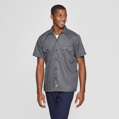 Dickies Men's FLEX Slim Fit Short Sleeve Twill Work Shirt