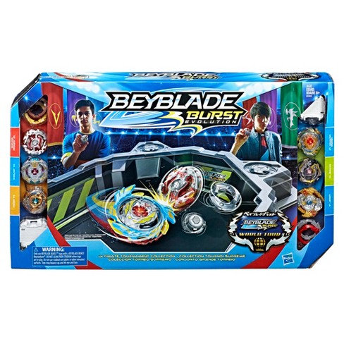 beyblade burst evolution ultimate tournament collection tops and