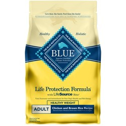 Blue Buffalo Adult Healthy Weight Chicken & Brown Rice - Dry Dog Food