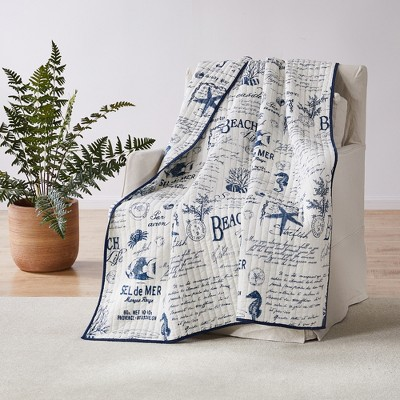 Beach Life  Quilted Throw - Levtex Home