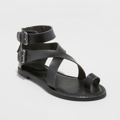5d8eb7f4c86 Women s Maribella Toe Wrap Gladiator Sandal - Universal Thread™   Target