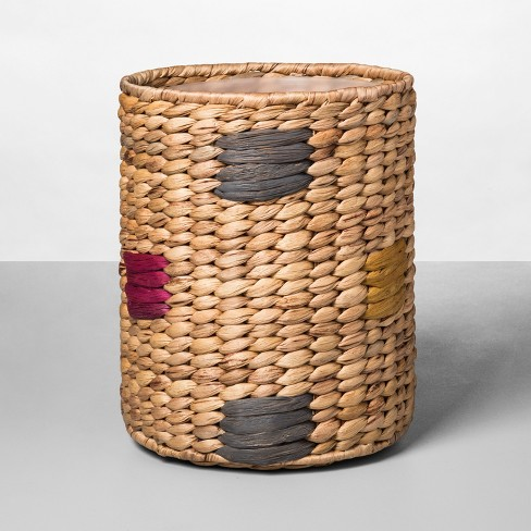 Woven Pattern Bathroom Wastebasket Natural - Opalhouse™ - image 1 of 1